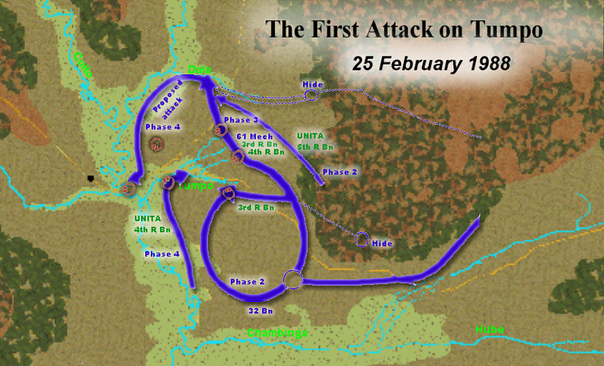 The First Attack on Tumpo: 25 February 1988