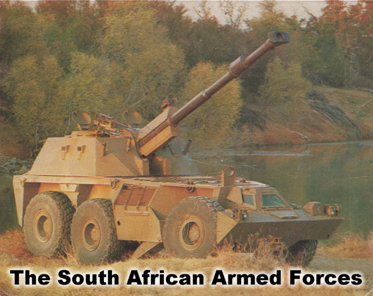 A G-6 SP gun/howitzer of the South African Armed Forces