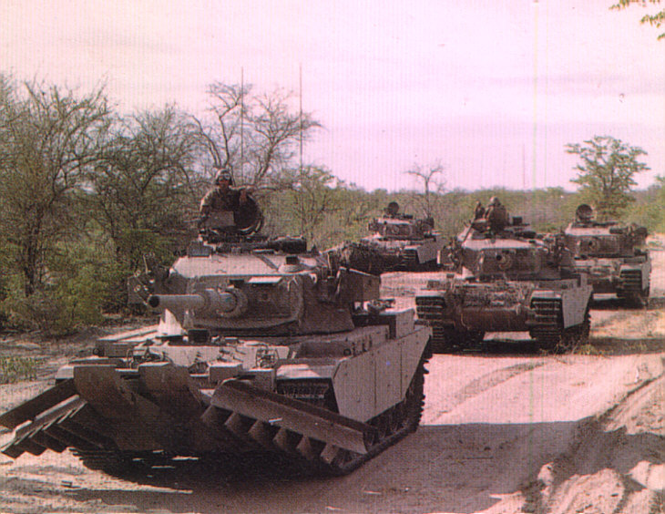 Olifant Main Battle tanks