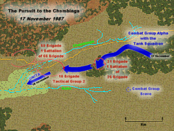 The Pursuit to the Chambinga: 17 November 1987