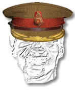 SA Army Staff Qualified Colonel and Brigadier's Cap