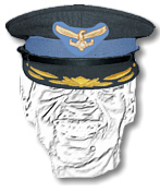 SA Air Force Colonel and Brigadier's Cap
