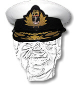 South African Navy Flag Officers Cap