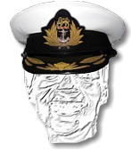 South African Navy Senior Officers Cap