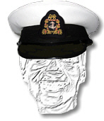 South African Navy Warrant Officers Cap
