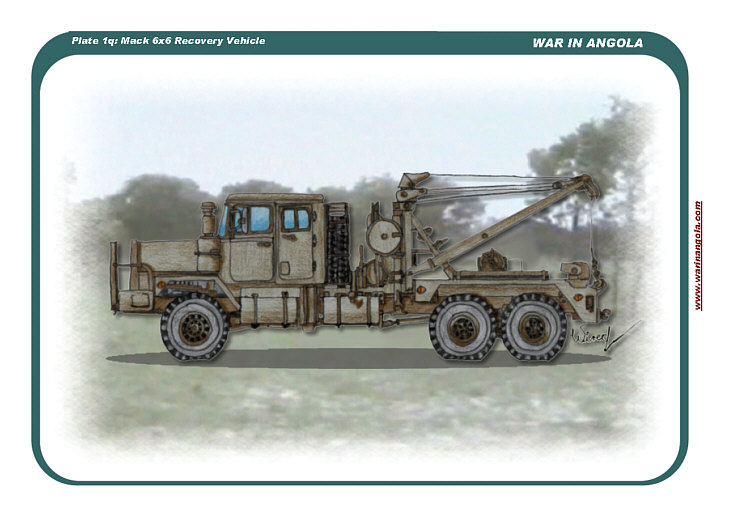 Mack 6x6 Recovery Vehicle